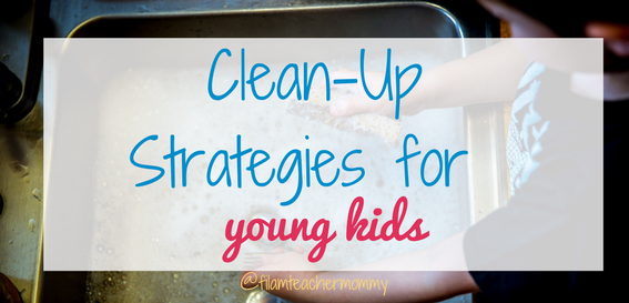 clean up strategies with kids