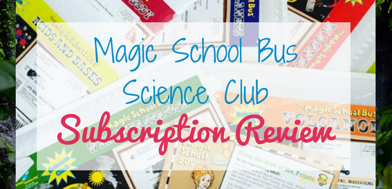 magic school bus science club subscription review