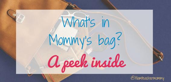 mommy's bag
