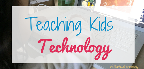 teaching kids technology