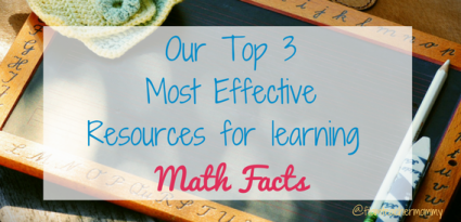 top 3 resources to learn math facts