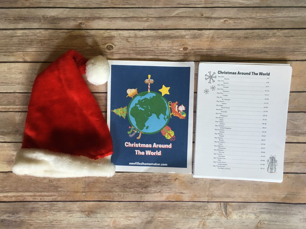 Christmas Around the World contents