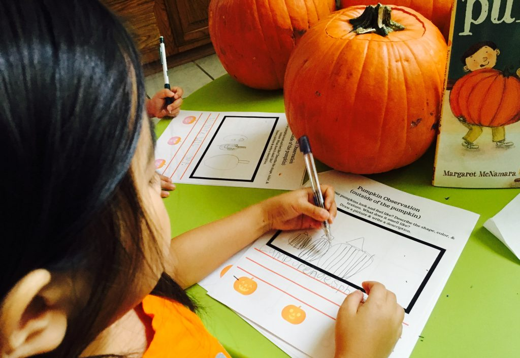 pumpkin lesson plans