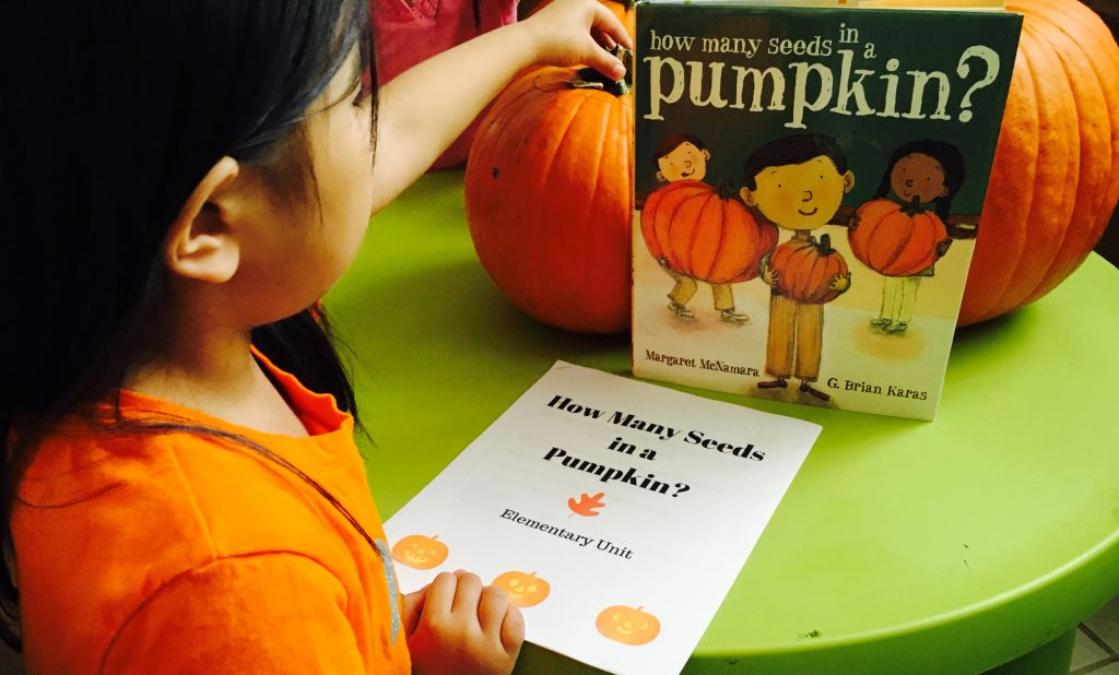 how many seeds in a pumpkin lesson activity